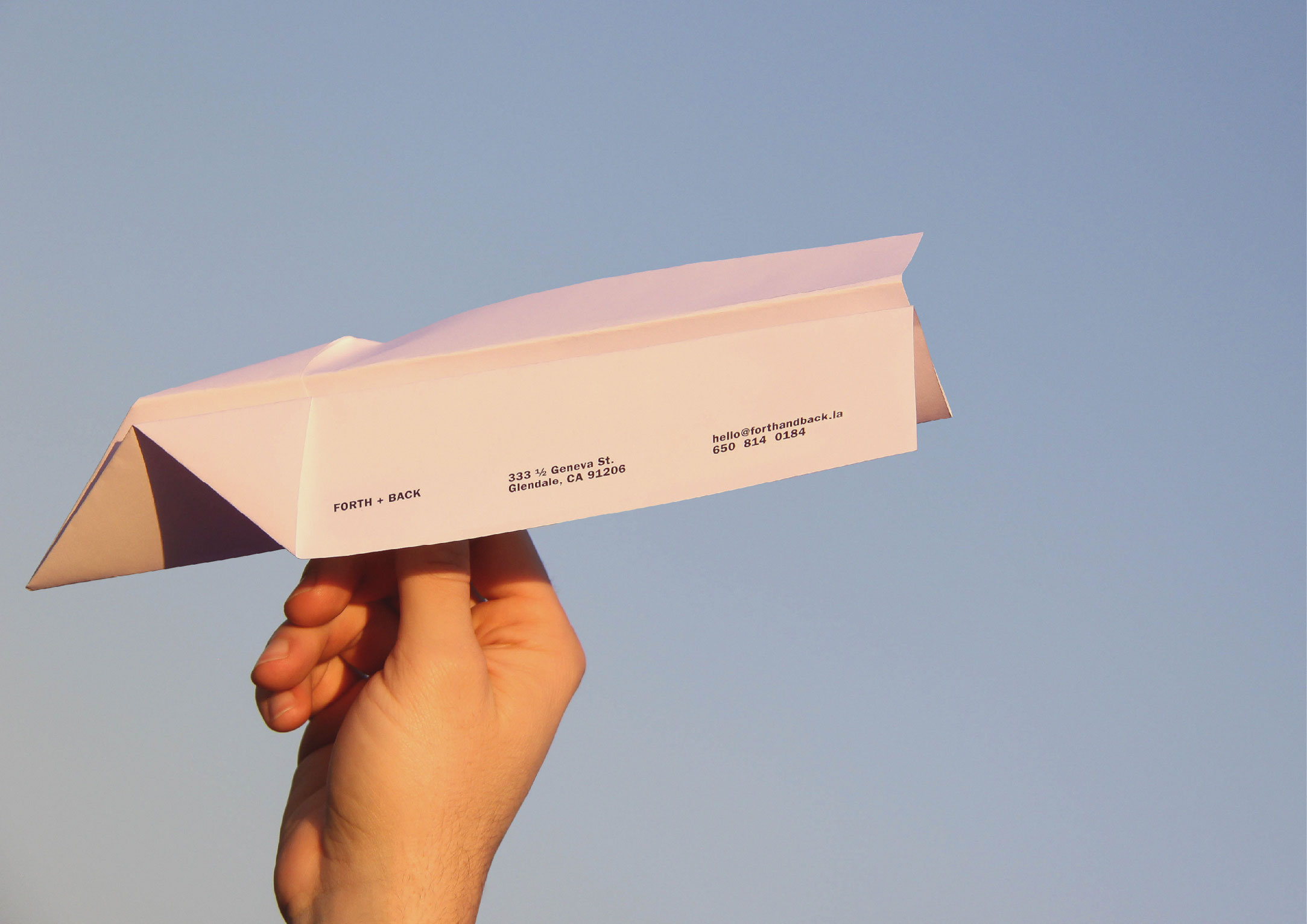 Stationary Design Paper Airplane